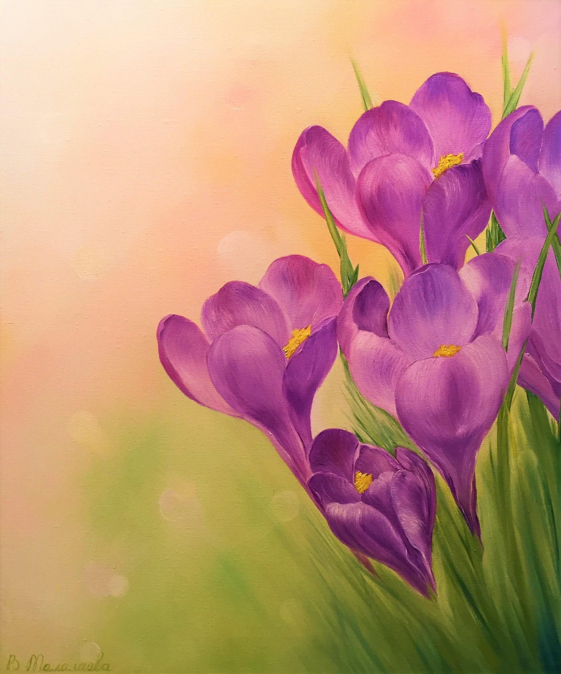 Crocuses (sold!)