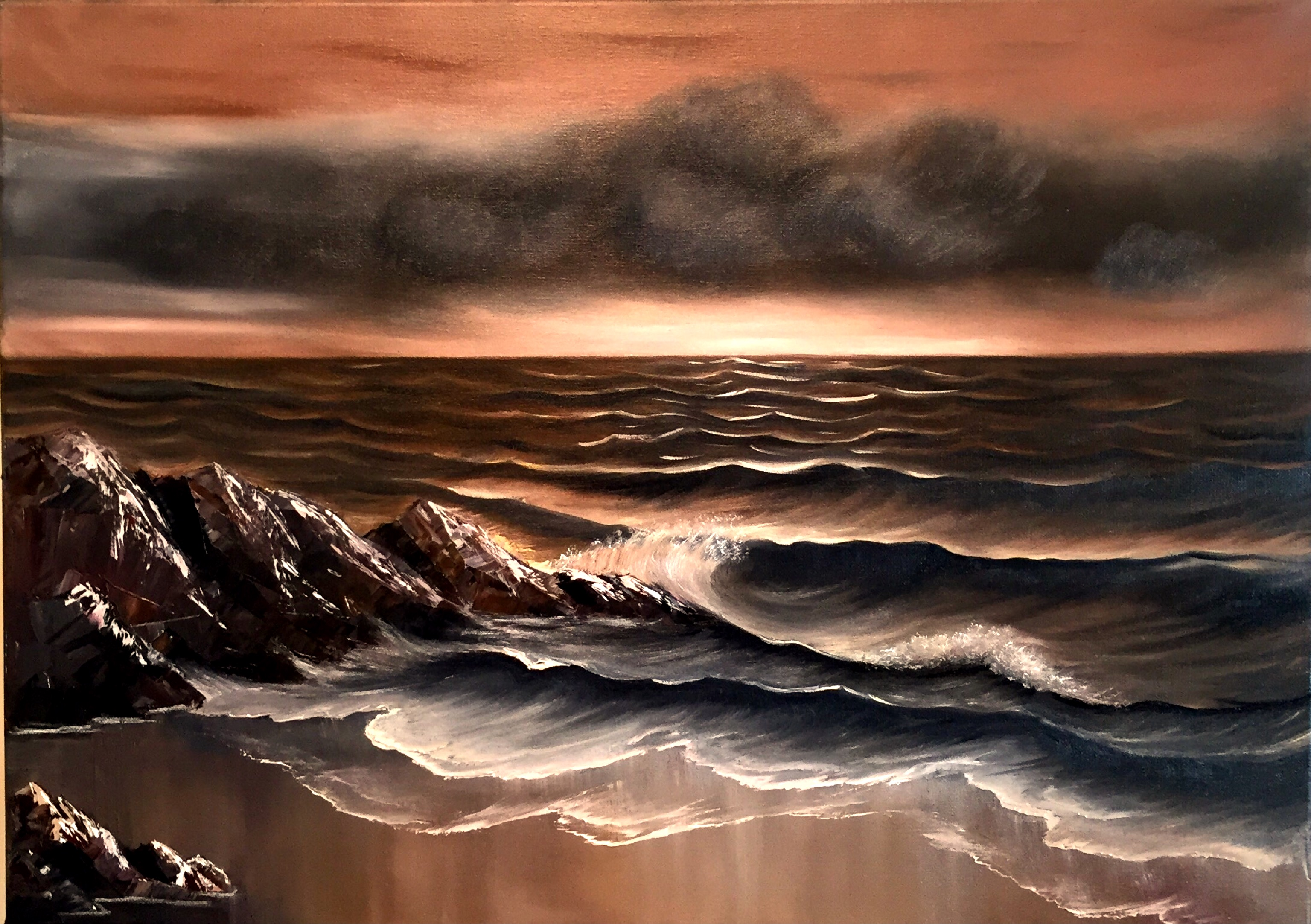 Sea sepia (Sold!)